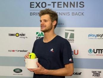 iải quần vợt đầu tiên trở lại sau Covid-19  Covid-19之後,首場網球比賽即將開始