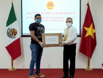 Thống đốc bang Guerrero cảm ơn Việt Nam hỗ trợ phòng chống dịch COVID-19  墨西哥格雷羅州州長感謝越南對該州提供的新冠肺炎疫情防