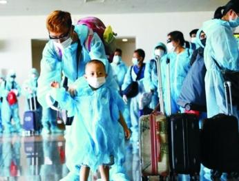Thêm gần 350 công dân Việt Nam được đưa về từ Nga 將在俄羅斯的近350名越南公民送回國