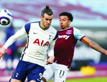 Đánh bại Tottenham 2-1, West Ham nhảy vào tốp 4 西漢姆2-1熱刺升至第4